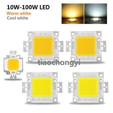 High Power LED Chip 10W 20W 30W 50W 100W DC 10V-32V Integrated Lamps  White