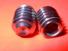 """Qty 25 #5/16-18 x 3/8"""" Socket Set Screw Cup Point Stainless Steel (18-8SS)"""