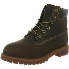Timberland 6 Inch Classic Boot Youth Brown Nubuck Boots