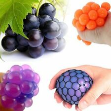 Funny Toys Relief Stress Reliever Grape Ball Autism Mood Squeeze Healthy Toy EG