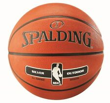 Spalding NBA Silver Outdoor Basketball FREE POST AND PACKAGING - 3 sizes