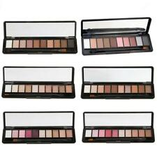 10 Color Shimmer Matte Eyeshadow Makeup Cosmetic Eye Shade Palette w/ Brush Kit