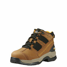 "Ariat 10018574 Contender Steel Safety Toe 5"" Non-Slip EH Rated Hi Top Work Shoes"