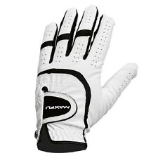 2x Maxfli ALL WEATHER LEFT HAND GOLF GLOVE, WHITE/BLACK *USA Brand - Small Or XL