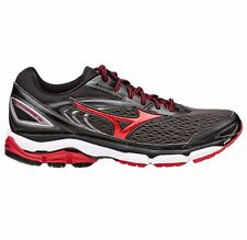 Mizuno Wave Inspire-13 MEN'S RUNNING SHOES, GREY/RED - Size US 11.5, 12 Or 13