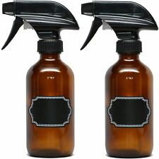 Firefly Craft Glass Spray Bottles with Chalkboard Labels, 8 ounces each