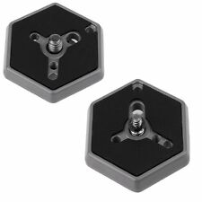 Hexagonal Quick Release Plates Screw For Manfrotto 030-14/030-38 RC0 3063 EG