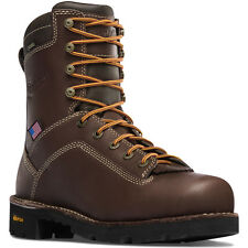 "Danner 17307 Quarry 8"" Alloy Toe WP EH Rated Non-slip Oil Resistant US Made Boot"