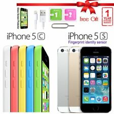 Apple iPhone 5c 5s 8GB 16GB 32GB 64GB Factory Unlocked Sim Free Smartphone US