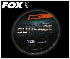 Fox NEW Surface Floater Fishing Clear Mainline 250m All Breaking Strains