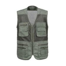 Quick-Dry Mesh Vest Waistcoat for Outdoor Fishing Hiking Hunting Photography