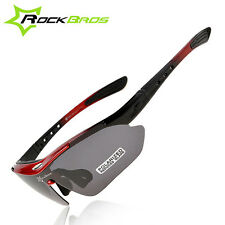 Cycling Bike Sun Glasses TR90 Goggles Eyewear 5 Lens Bicycle Accessory