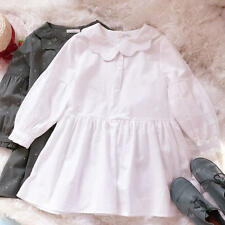 Sweet Lolita Preppy Style Small Fresh Gothic Dress Long Sleeve Kawaii#ND-G29