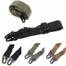 Adjustable Hunting 1 One Point Rifle Sling Bungee Tactical Shotgun Strap Syste E