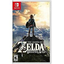 Nintendo Switch - The Legend of Zelda: Breath of the Wild Game New