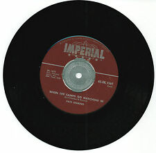 """FATS DOMINO 45rpm / 7"""" IMPERIAL RECORD MADE IN CANADA # 5569"""