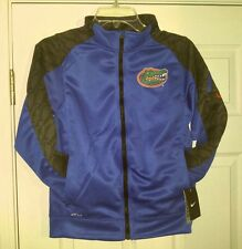 Nike UF Florida Gators Fly Speed Dri-Fit Football Jacket YOUTH M Boys Kids NEW