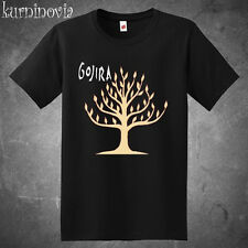 New Gojira Band The Link Album Cover Men's Black T-Shirt Size S-3XL