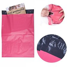 10x13 Poly Mailers Shipping Envelopes Couture Boutique Plastic Bags 2.5 Mil Pink