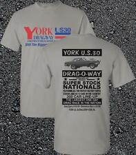YORK US-30 DRAGWAY Poster T-Shirt 1965 '65 Ford Falcon AF/X 427 SOHC Cammer