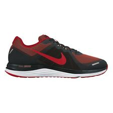 Nike Dual Fusion X2 MEN'S RUNNING SHOES, BLACK/RED/WHITE- Size US 11, 11.5 Or 13
