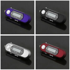 8GB USB 2.0 Flash Drive LCD Mini MP3 Music Player with FM Radio Voice Recorder