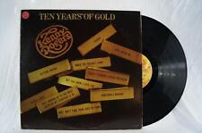 Vintage Kenny Rogers Ten Years Of Gold Vinyl Record