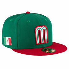New Era Mexico Green/Red WBC 2017 World Baseball Classic 59FIFTY Fitted Hat