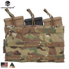 Emerson Magazine Mag Pouch 5.56 Triple Open Top Army Pouch Gear MC CB CP EM6356