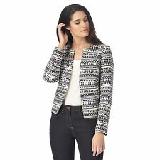The Collection Womens Blue Aztec Trophy Jacket From Debenhams