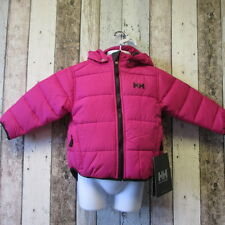 Girls Helly Hansen Reversible Padded Jacket Hot Pink/Black Age 2 (1962507 21) #