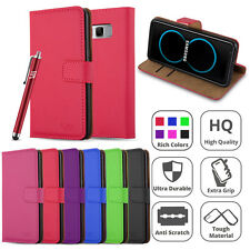 Samsung Galaxy S8 Case Wallet Flip Leather Book Card Slots Stand View Case Cover
