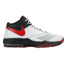 Nike Air Max Emergent MEN'S BASKETBALL SHOES,WHITE/BLACK/RED-Size US 8, 9 Or 9.5