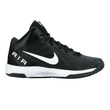 Nike Air Overplay IX MEN'S BASKETBALL SHOES, BLACK/WHITE - Size US 13, 14 Or 15