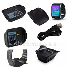 Hot Black Charging Dock Charger Cradle For Various Samsung Galaxy Smart Watch