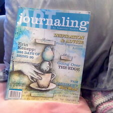 Somerset studio Journaling book magazine, crafts paper sewing mixed media