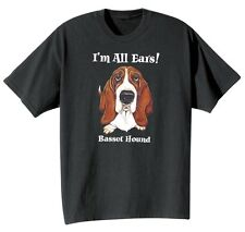 Dog Breed Tee- Basset Hound T-Shirt Sweatshirt or Hoodie