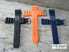 N.D. Limits Rubber Waterproof Divers Watch Strap 20mm, 22mm Orange, Blue, Black