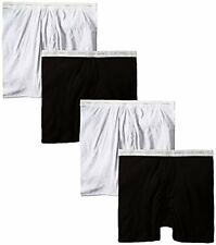 Hanes Mens Underwear 2349C4 Boxer Briefs Value Pack (Pack of 4) Assorted