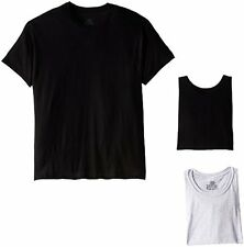 Hanes Mens Underwear 2165P4 ComfortSoft Tagless T-Shirts 2165- Choose SZ/Color.