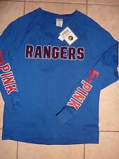 VICTORIAS SECRET PINK BLING MLB TEXAS RANGERS SWEATSHIRT SOLD OUT NWT