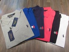 Ralph Lauren Mens Polo Shirt Short & Long Sleeve Small, Medium, Large, XLarge