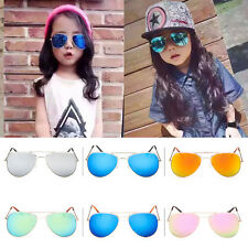 Retro Fashion Children Boys Girls Students Toddlers Aviator Sunglasses Eyewear