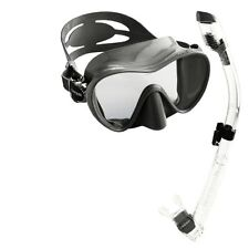 Cressi Scuba Diving Snorkeling Freediving Mask Snorkel Set- Choose SZ/Color.