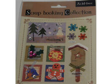 Scrapbooking  And Paper Craft Embellishments Christmas Theme