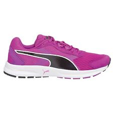 Puma Descendant V3 WOMENS RUNNING SHOES, BLACK/PURPLE - Size US 7, 7.5 Or 8.5
