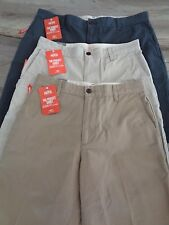 MENS DOCKERS PACIFIC COLLECTION CLASSIC FIT KHAKI CARGO SHORTS~SMARTPHONE POCKET