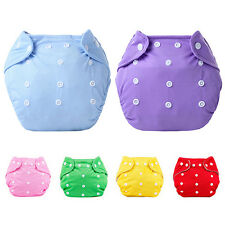 1 Pc Reusable Baby Infant Nappy Dotted Cloth Washable Diapers Soft Covers Speedy
