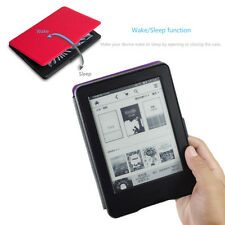 Ultra  Smart Magnetic PU Leather Case Cover For Amazon Kindle+Screen Protector
