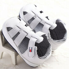 1pair Baby Infant Kids Girl Boy Summer Sole Crib Sandals Toddler Sneaker Shoes
